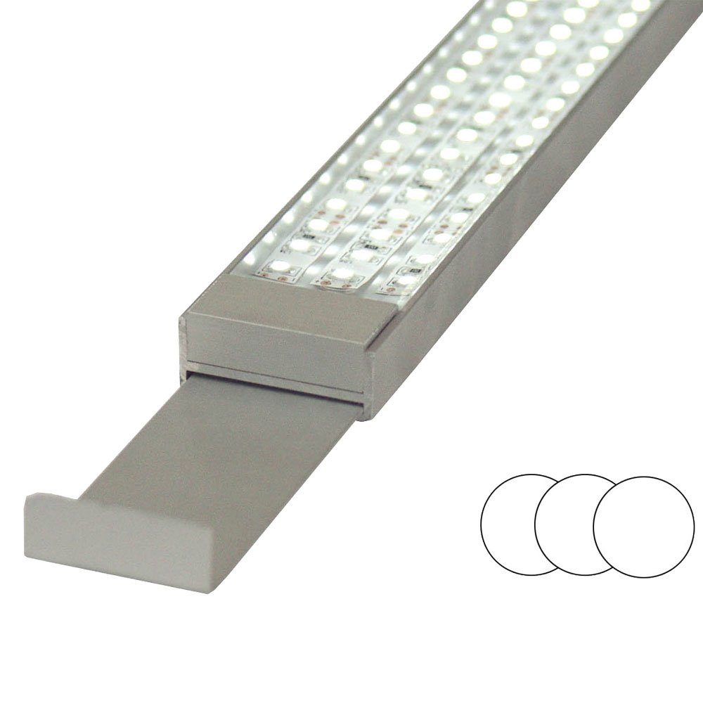 Lum-Light JL100202 Röhren-Ersatz, Aqua LED Styl Light, 3 x cool weiß