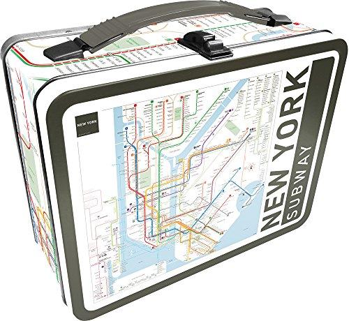 Aquarius NY Subway Large Gen 2 Tin Storage Fun Box