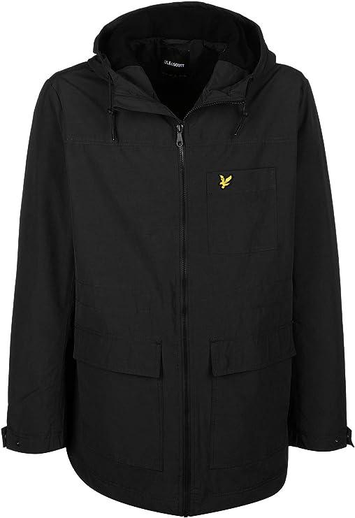 TALLA S. Lyle & Scott Micro Fleece Lined Abrigo para Hombre