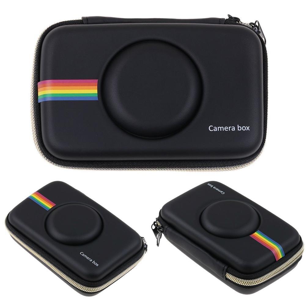 LIJUMN Camera Storage Protezione Antiurto Caso Retro Camera Box Resistente agli Urti Eva Bag per Polaroid Snap Snap Touch Stampa istantanea Fotocamera Digitale