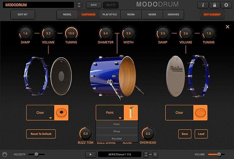 MODO Drum:キック・カスタマイズ