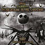 Nightmare Before Christmas Official 2017 Calendar - Square 305x305mm Wall Calendar 2017