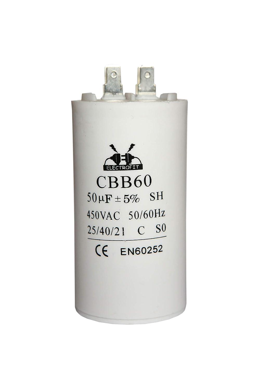 Condensador del motor 450V 50uF CBB60
