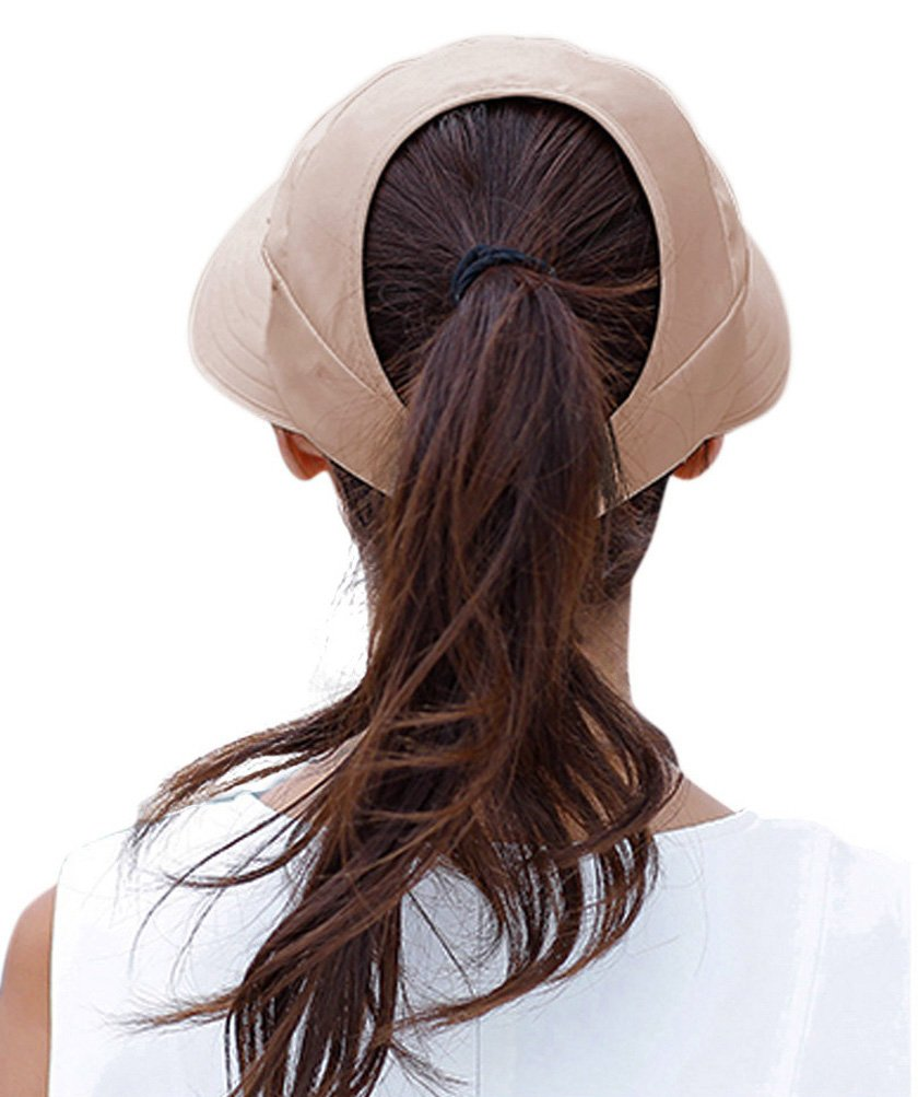 HindaWi Sun Hats for Women Wide Brim UV Protection Visor Floppy Hat Beach Summer Packable Caps by HindaWi (Image #3)
