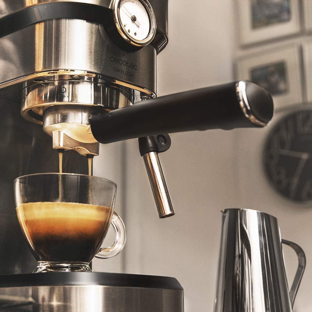Cecotec Cafetera express Cafelizzia 790 Steel Pro. Acero ...