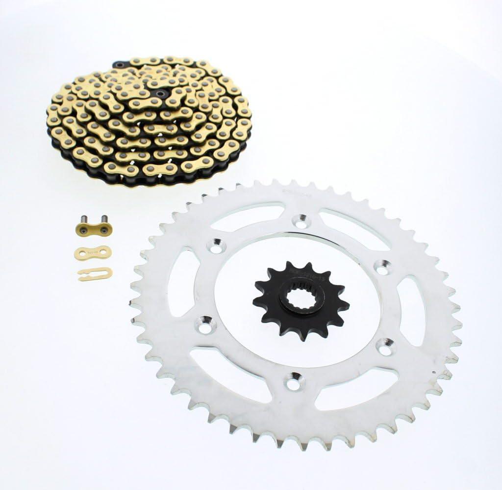 2006-2014 fits KTM 250 SX-F CZ Gold MX Chain and Sprocket 13//48 120L