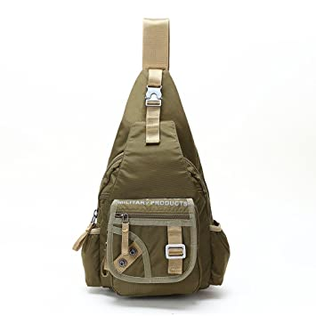 mens one strap backpack