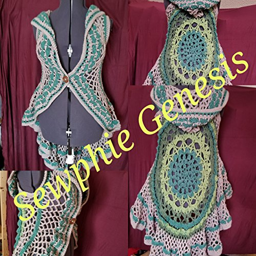 Sleeveless Mandala Dusters *Ready to ship* by Sewphie Genesis Creations