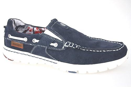 Dockers 38MN003-201600 - Mocasines para hombre, color Azul, talla 42 UE: Amazon.es: Zapatos y complementos