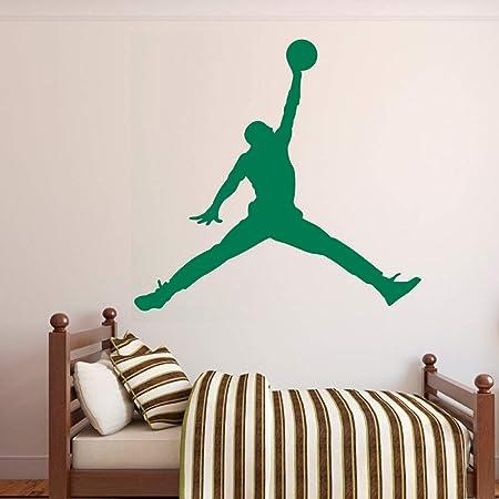 Salon Fashion Basketball Hopper Stickers Muraux Joueur De