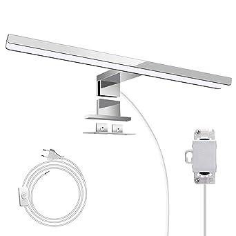ulocool led spiegelleuchte,spiegellampe ip44 badlampe für badzimmer und spiegelschrank, badleuchte,energiesparende,schrankleuchte,wandleuchte,schminkl  spiegellampen unheimlich stilvoll #6