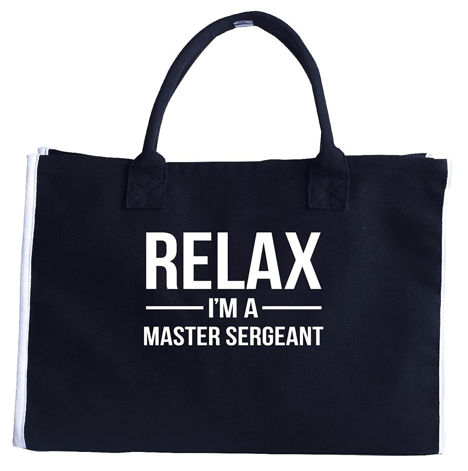 Relax I'm A Master Sergeant. Cool Gift - Fashion Tote Bag