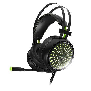 Naili Atado Con Alambre Sonido Envolvente Aislamiento Control De Volumen Situ Ordenador Portátil Del Teléfono Portátil Gaming Headset: Amazon.es: ...
