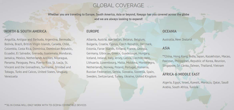 Keepgo Global Lifetime 4G LTE Data SIM Card for Europe, Asia ...