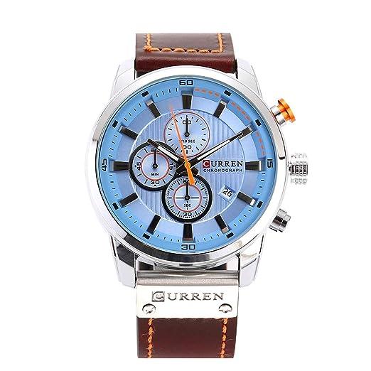c050ccc898f4 Curren - Reloj de Pulsera Deportivo para Hombre