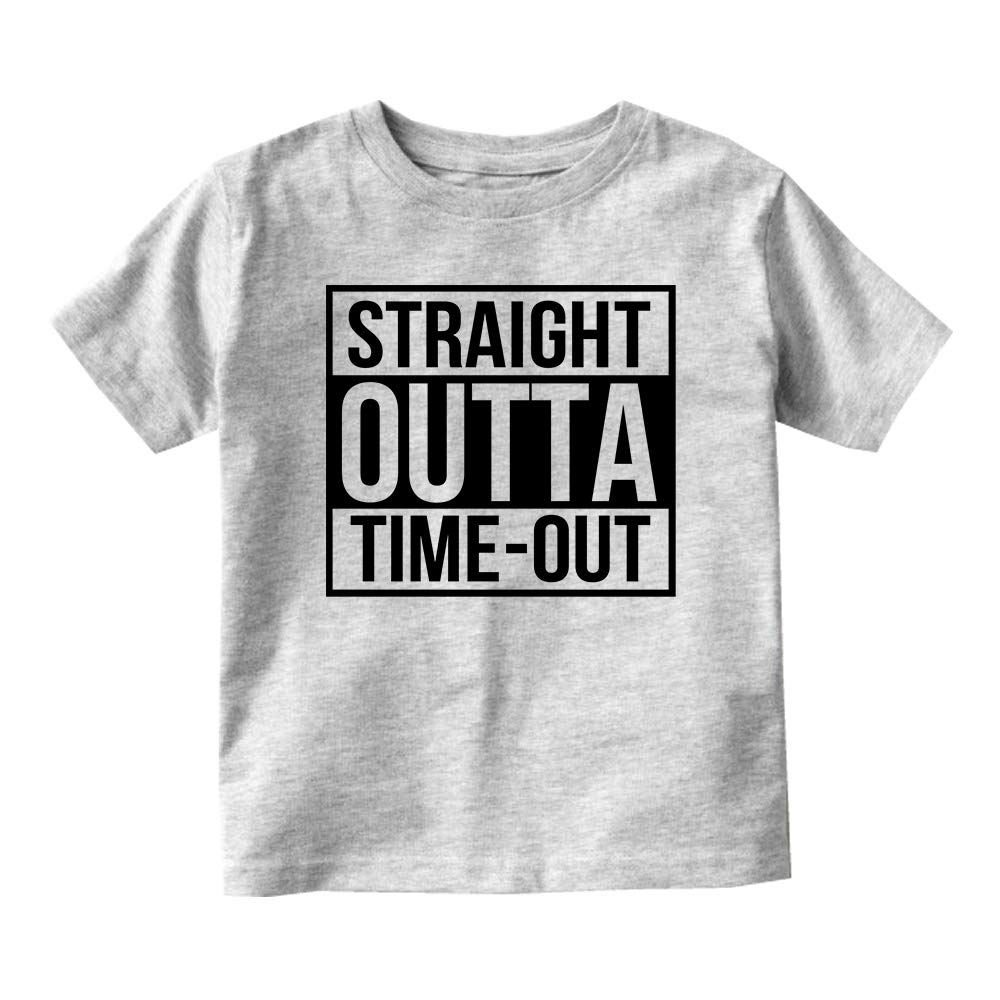 ab3f7f8bf Amazon.com: Kids Streetwear Straight Outta Time Out Baby Toddler T-Shirt  Tee: Clothing