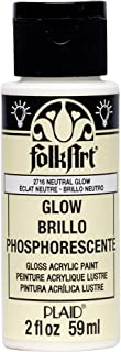 product image for FolkArt Multi-Surface Fluoresent Glow Acrylic Paints, 2 oz