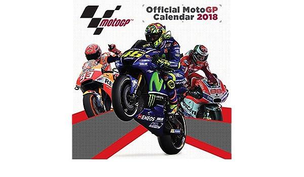 2018 motogp official calendar 9781847577740 amazoncom books