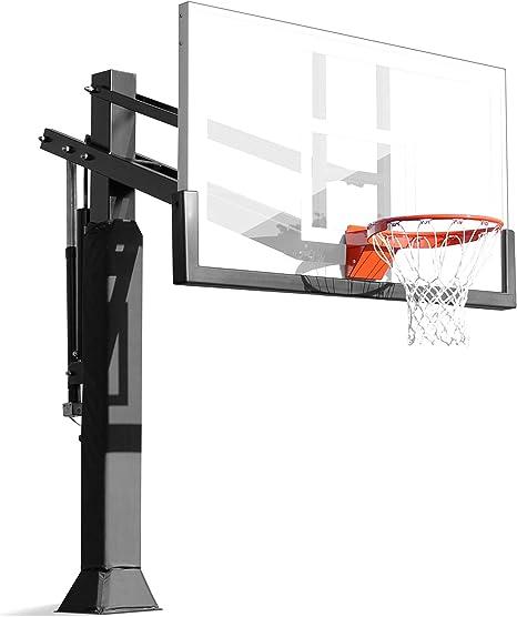 Pro Dunk Gold -Canasta de baloncesto para garaje, tablero de ...