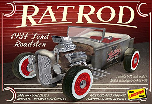 Lindberg 1934 Ford Roadster Rat Rod