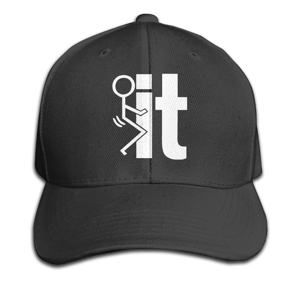 a583fc3d36c26 Amazon.com  Jermily-caps FCK It Cotton Twill Cap Hats Fitted Black Baseball  Cap (6700483001641)  Books