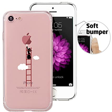 Amazon.com: Dorami Funny Series - Carcasa para iPhone 7 (TPU ...