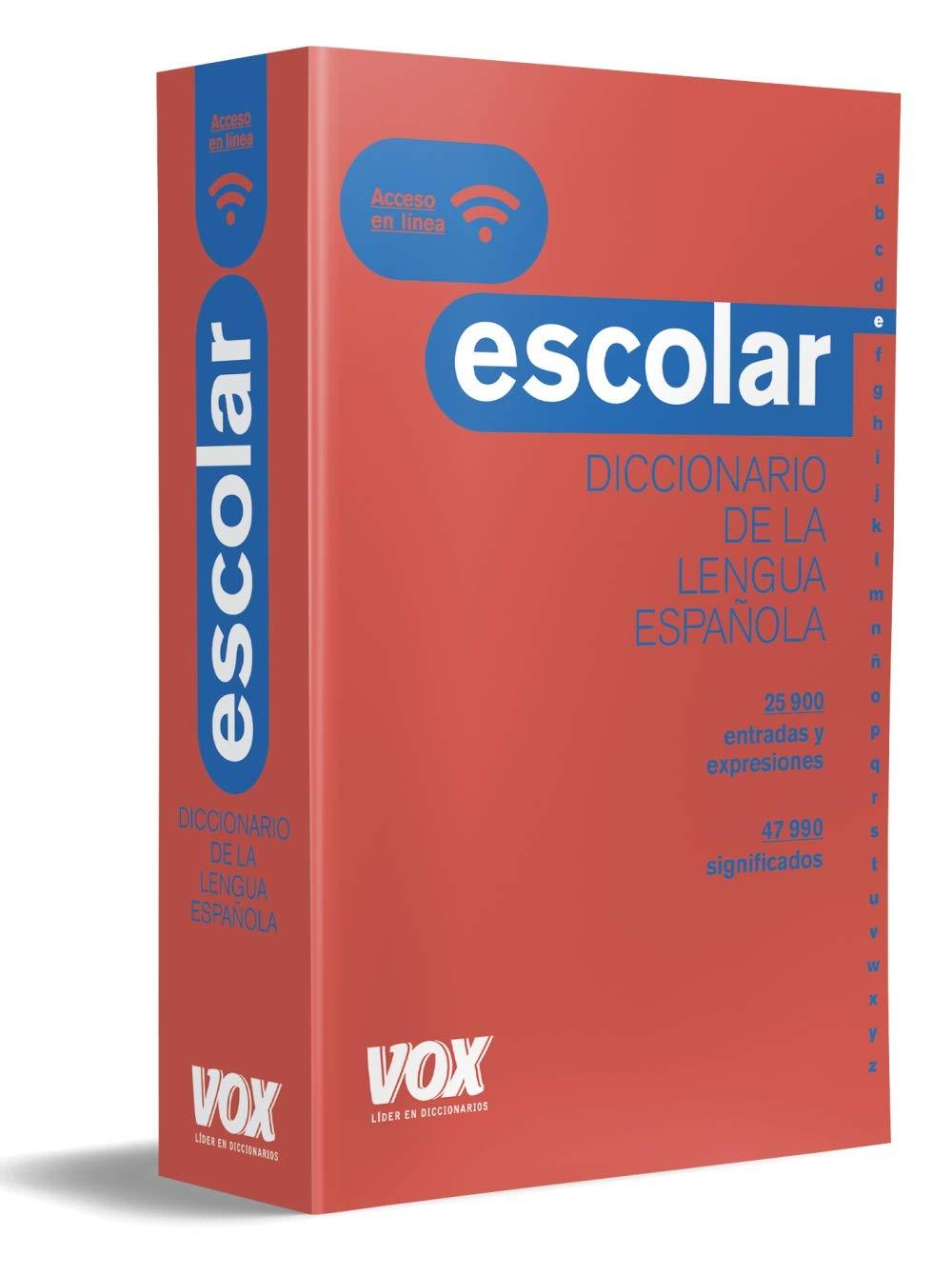 Diccionario Escolar de la Lengua Española Vox - Lengua Española - Diccionarios Escolares: Amazon.es: Vox Editorial, Seguí Nicolau, Bertomeu: Libros