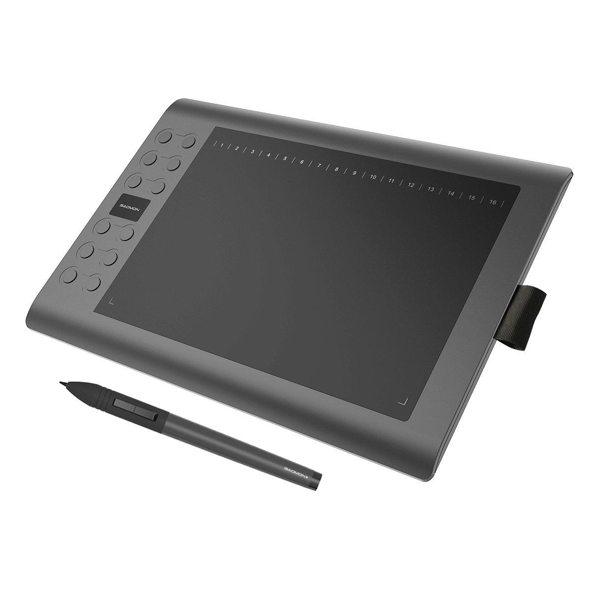 GAOMON MK Professional x pulgadas Dibujo Digital Pen Tableta gráfica