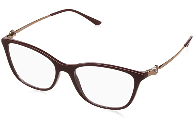e9b8b68102 Image Unavailable. Image not available for. Colour  Vogue Full Rim Cat Eye  Women s Spectacle Frame ...