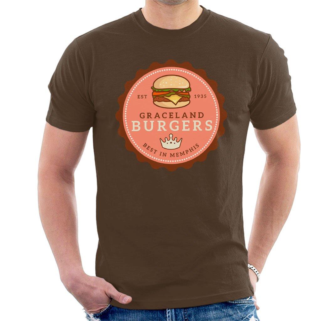 Graceland Burgers Best In Memphis Elvis Presley T Shirt 2755