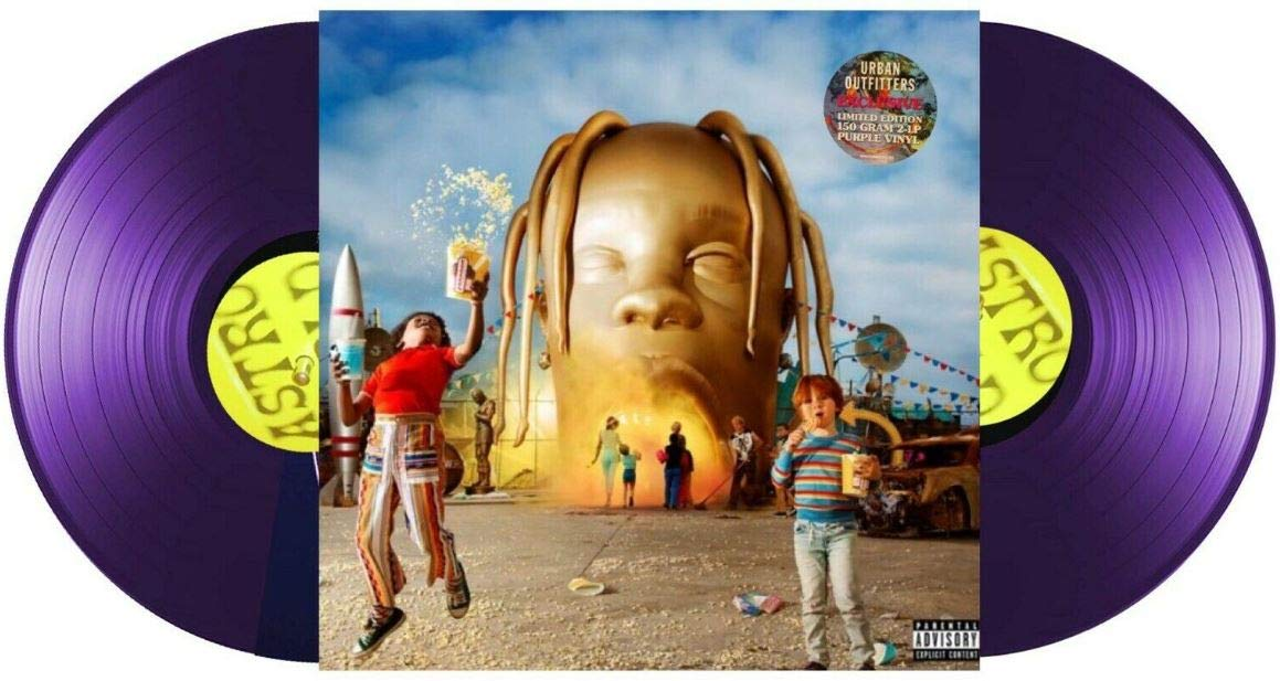 Travis Scott & Friends -- Astroworld - Exclusive Purple 2XLP [NM/MT] by CactusJ