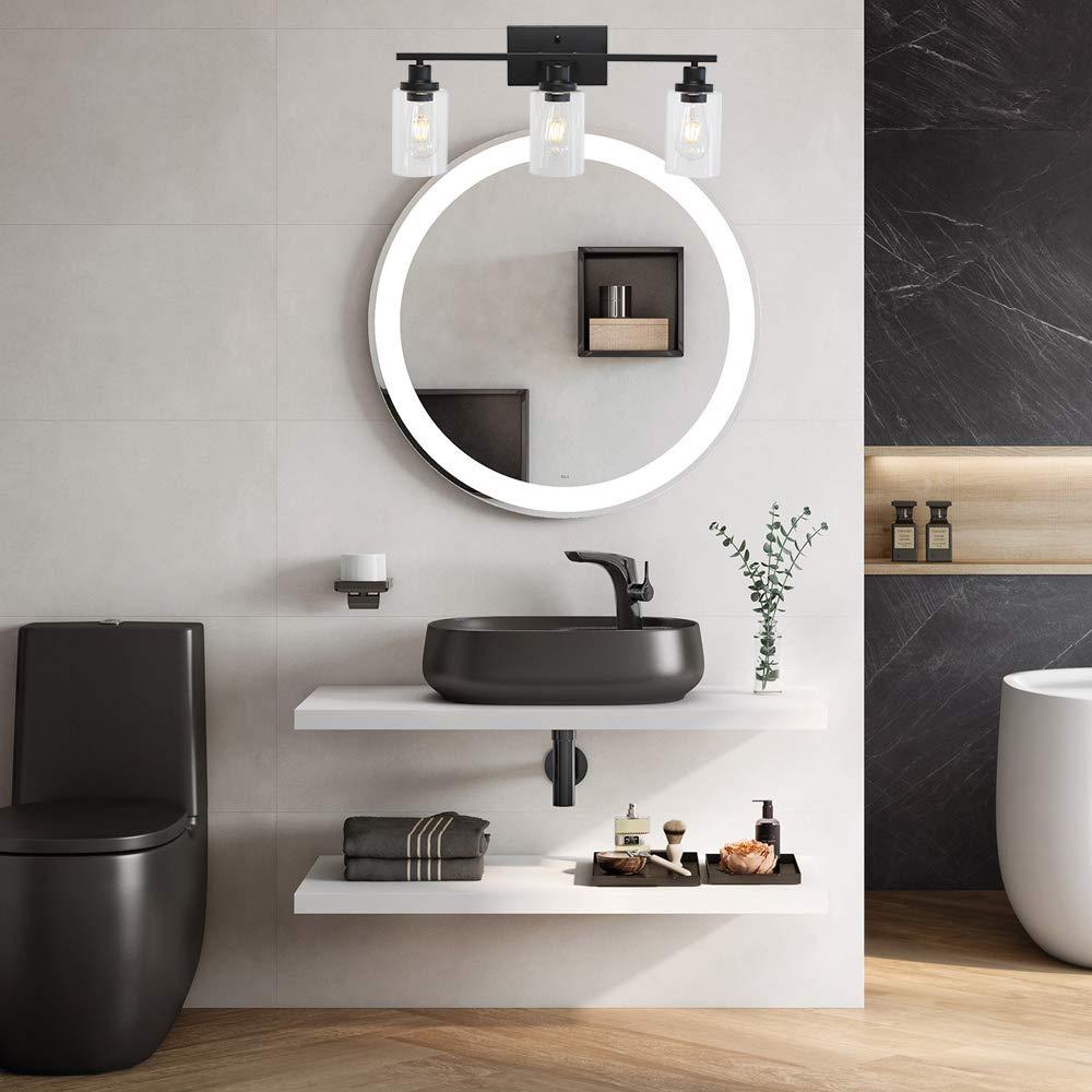 Industrial Bathroom Light Fixtures Vanity Lights Porch Light Fixtures Wall Mount Melucee 4 Lights Sconces Wall