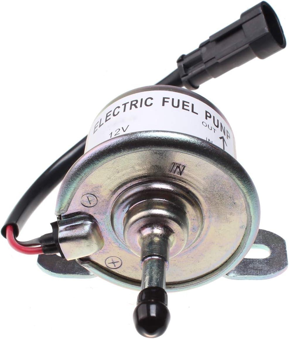 Friday Part Fuel Pump TFP 12V for U-SHIN Transistor with Black Plug