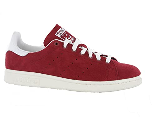Mens Adidas Original Stan Smith Red Casual Suede Leather Fashion Trainers  Shoes (UK 7.5) 097c44a9e
