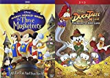 Disney's Adventure DVD 2-Pack Set - Mickey, Donald, Goof, The Three Musketeers & DuckTales the Movie: Treasure of the Lost Lamp Feature Film 4-DVD Bundle