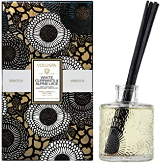 product image for Voluspa White Currants and Alpine Lace Home Ambience Reed Diffuser, 3.4 Fluid Ounces
