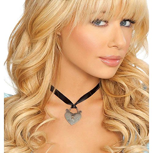 Roma Costume 14-NEC401-AS-O-S Heart Necklace, One Size