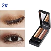 Hotsellhome New UBUB 6 Colors Best Double Color Eye Shadow Perfect Dual Color Eyeshadow Brand Makeup Kit Set Professional Box with Mirror (B)
