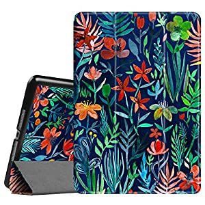 """Fintie iPad 9.7 Inch 2017 Case - Lightweight Slim Shell Standing Cover with Auto Wake / Sleep Feature for Apple iPad 9.7"""" 2017 Release Tablet, Jungle Night"""