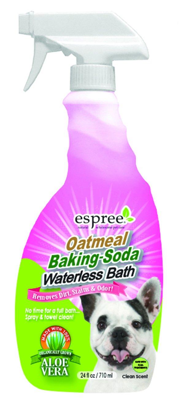 Espree Animal Products Oatmeal Baking Soda Waterless Bath, 24-Ounce NOBWB