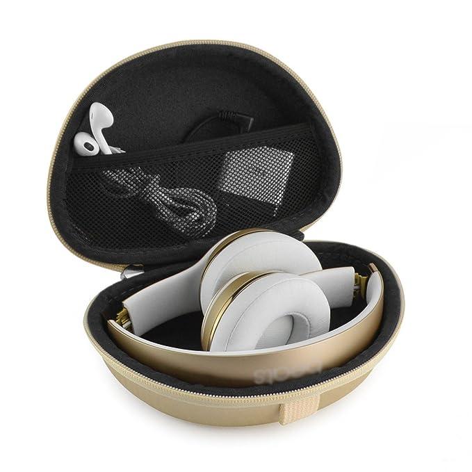 Geekria - Funda de transporte para auriculares, para Solo3, Solo2, funda rígida: Amazon.es: Electrónica