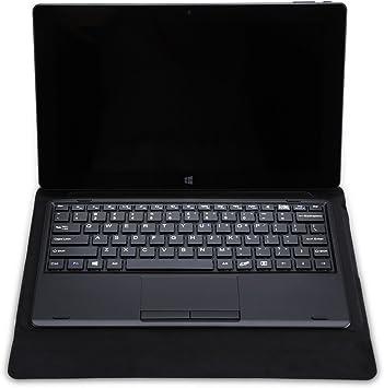 TECLAST Original - Funda de Cuero para Tablet TBook 11, X16 Plus (Teclado, Magnético, Unión Cósmica, PU Plegable, Proteccion contra Rasguños, Golpes, ...