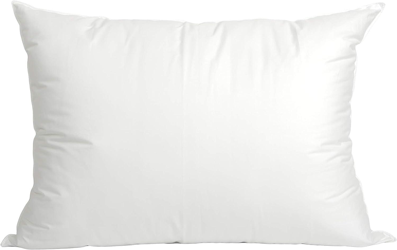 Blue Ridge Home Fashions White 400 Thread Count Pillow, King