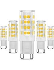 KINDEEP G9 LED - 5W / 400LM, Ricambio por lámpara alogena da 40W (Blanco cálido)