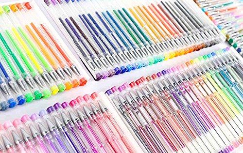 Feela 360 Colors Gel Pens Set 180 Unique Gel Pen Plus 180 Refills for Adult Coloring Books Drawing by Feela (Image #3)