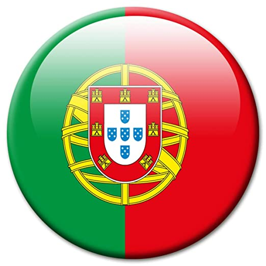Imán de nevera con la bandera de Portugal (2608) de Guma ...