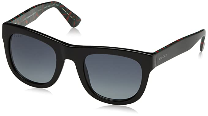 e75b220cf563b Gucci 1100S H2Y Black 1100S Wayfarer Sunglasses Lens Category 3 ...