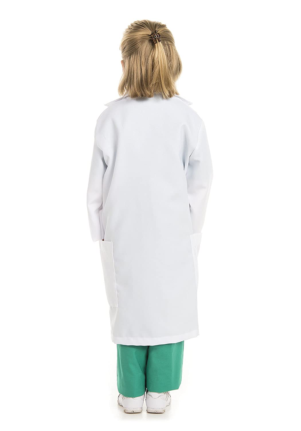 Kidcostumes Doctor Medical Scrubs with White Lab Coat Child Youth