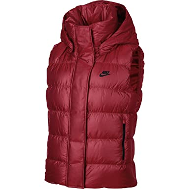 6682a4da4613 Image Unavailable. Image not available for. Colour  NIKE Women s 550 Fill  Down Hooded Vest 809549 (Large ...