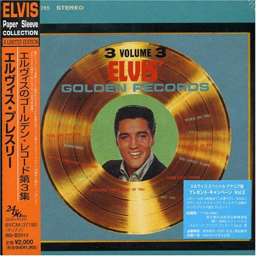 Elvis' Golden Records, Vol. 3 ( Elvis Paper Sleeve Collection Mini LP 24 bit 96 khz ()